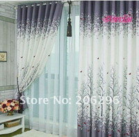Wholesale hot fashion for bedroom balcony Pleated curtain finished curtain top quality fast delivery ready made curtain