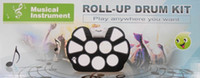 Wholesale W758 portable key electronic drum folding USB electronic drum