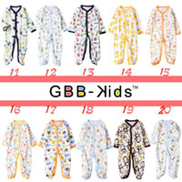Unisex Summer 100%POLYESTER Baby Fleece Romper with feet Overalls All In One Romper W Feet Baby Pajamas Sleeping Bags For 0-1T