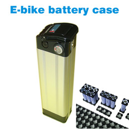 Wholesale E bike battery box and cell holder Electric bicycle battery case V lithium battery shell