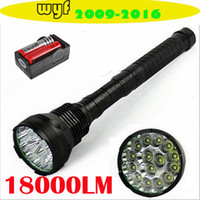 Wholesale TrustFire flashlight Lumen x CREE XM L T6 LED Flashlight Torch T6 Light Lamp x Battery Charger
