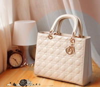 Wholesale NEW Women PU Leather Shoulder Quilted Cross Body Satchel Handbag Bag