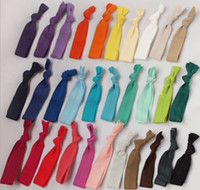 Wholesale New Arrival Perfect Women Lady Baby Girls Pony Tail Ties Elastic Hair Ties Hair Band Mixe colors Packing