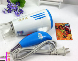 Wholesale Mini Can Folded Cold Hot Wind Hair Dryer Household Type Electric Hair dryer For Business Travel Trip Blowing Tube Ultra quiet Design W