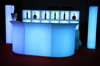 Wholesale New fashion Led bar counter for bar furnitre party furniture decoration Furniture plastic furniture
