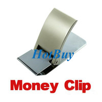 Wholesale Wallet Slim Sided Money Clip Card Credit Name Holder