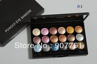 Wholesale 1piece Brand makeup MC color Professional powder eye shadow palette diff color eyeshadow g Dropship