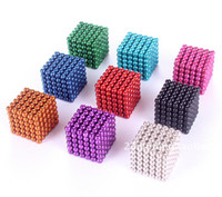 Wholesale Buckyballs mm Block Puzzle Magic magnetic ball creative gifts Christmas toys for children over years old children toys Masutomo