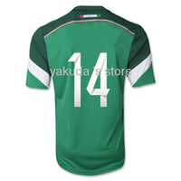 Customized Thailand Quality 2014 World Cup Mexico CHICHARITO...