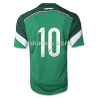 Customized Thailand Quality 2014 World Cup Jersey Mexico 10 ...