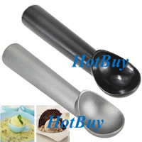 Wholesale New Kitchen Deluxe Non Stick Anti Freeze Teflon Ice Cream Commercial Scoop