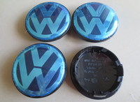 Wholesale Hot Sale mm Alloy Wheel Centre Cap Caps Car Badge Emblem Emblems for VW Volkswagen BY DHL