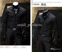 Cheap Dress Shirts 039 shirts Best Long Sleeve 100% Silk mens shirts