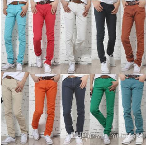 Best Men'S Poupler Designer Jeans Brand Straight Casual Slim ...