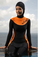 Wholesale 2014 New Arrival Women Muslim Swimwear Islamic Swimsuit Islamic Swimwear Plus Size XXL