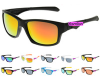 Plastic Sports Wayfarer Hot New UV400 Protective 11 Colors Fashion Men Women Outdoor Cycling Bicycle Riding Sports Sunglasses