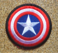 avengers logo - Captain America Avengers shield Movie quot Embroidered LOGO Iron On Patch Emo Goth Punk Rockabilly Customized patch available