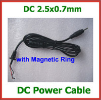 Wholesale 2pcs DC Tip Plug mm mm Jack Power Supply Adapter Cord Cable with Magnetic Ring for Tablet Charger V V V Replacement Cable