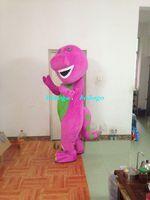 Animal barney clothing - Cartoon Clothing High qualityHigh quality Adult Barney Cartoon Mascot Costumes on Adult Size Free good quality