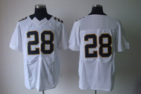 Wholesale Cheap Football Jerseys White Jersey Saints Elite