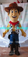 Wholesale Cartoon Clothing hot sale woody mascot costume party costumes fancy toy story character mascot dress costuymes outfit good quality