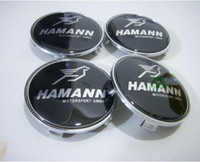 al por mayor ruedas de bmw establecen-BMW EMBLEMA DE LLANTAS DE RUEDAS CENTRO HUB CAP 39 E87 Z3 Z4 E36 4PCS / SET NUEVO 68mm Hamann