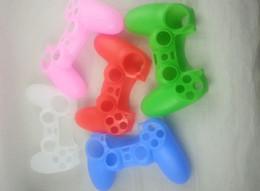 Nouvelle Soft Silicone Housse de protection Housse Housse pour PlayStation 4 PS4 Controller à partir de contrôleur ps4 couvercle du boîtier fournisseurs