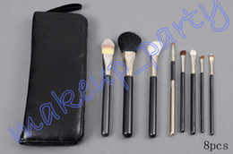 Wholesale Hot Professional Makeup Brush Pieces Brush leather Pouch GIFT