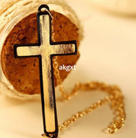 Cheap Wholesale -Wholesale Jewelry Stylish Personality Classic Cross Lovers New Bracelets 3 Color#G681