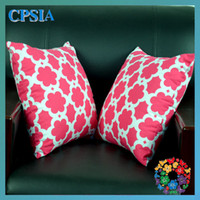 Wholesale 01 New arrival moroccan printed baby pillows covers cotton infant pillows cover chevron baby pillow