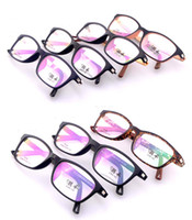 Wholesale 2013 New Arrival TR90 Glasses Frame Light And Soft Material Eyeglasses Frame Optical Frame Clear Lenses Mix Colors