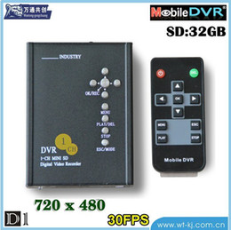 Factory Direct Car DVR car video recorder hard drive SD card 1-ch HD factory outlets