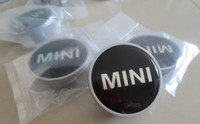 Wholesale HOT SALE ABS PLASTIC MINI COOPER S Car Center Wheel Hub Caps Cap Cover Badge Emblem Emblems BY DHL