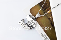 Beaded Necklaces Unisex Gift Free Shipping Genuine 925 Sterling Silver Carp Pendant 18 inch Fine Necklace GND0202.Wholesale Silver Jewelry.TOP quality.