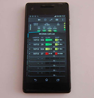 WCDMA android pocket tv - TEMS LT25i with TEMS Pocket TEMS Investigation LTE WCDMA frequencey M