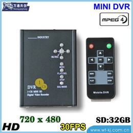 Wholesale 1 CH D1 full real time SD Card Mobile DVR car video recorder car video recorder TAXI