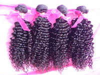 Wholesale Queen hair Guaranteend quality AAAAA Grade virgin afro mongolian kinky curly hair natural color