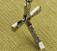 Wholesale 2013 New arrival fashion Fast and the Furious Men Classic Style Six CROSS Pendant Necklace jewelry