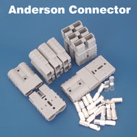 achat en gros de puissance anderson-Livraison gratuite Connecteur Anderson de 50A Grande borne de courant de prise de courant Connecteur de batterie