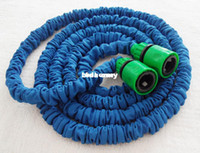 Wholesale ft x Garden water expandable hose green fast connector expanding hose