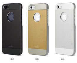 Wholesale High Quality iGlaze Armour Premium Aluminum Hard back Metal PC Cover Case Shell for iPhone G S iPhone S MOQ