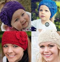 Cheap Headbands hair headband Best Bohemian Women's knitted headband