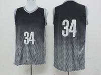 Wholesale Brooklyn Teams Paul Pierce Dirft Basketball Jerseys Mens Resonate Fashion Swingman Jersey New Style Basketball Wears Black Silver