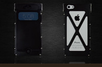 armor king aluminium metal flip Case For Iphone 5 5S 5C