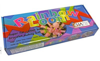Wholesale Promotion Rainbow Loom Kit DIY Rubber Bands Twistz bracelets for kids bands S clips in Retail Packaging DHL