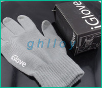 Wholesale IGlove Screen Touch Gloves Unisex Winter Gloves For Cell Phone Tablet PC with retail package