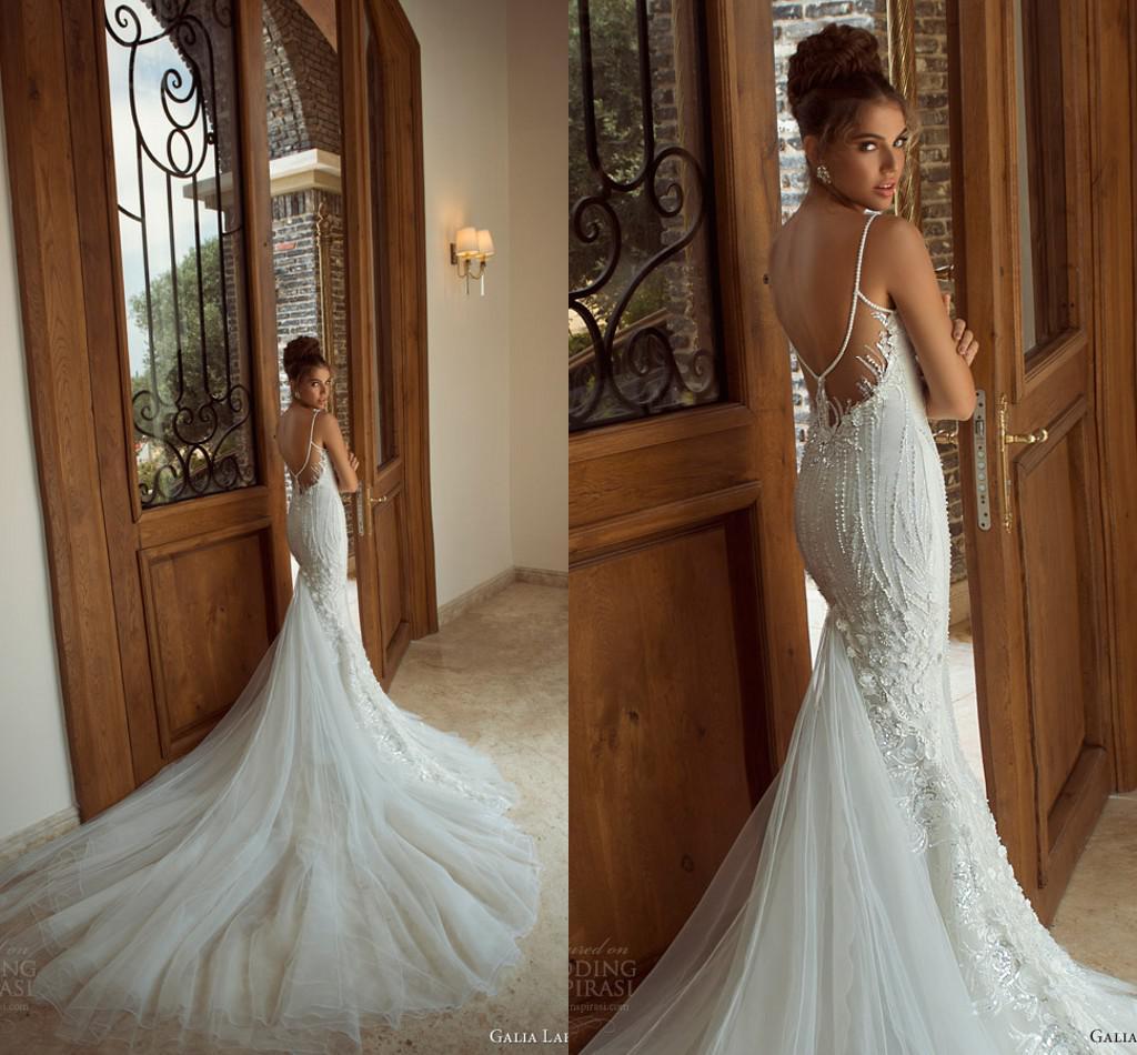 Hot Selling 2014 Galia Lahav Elegant Wedding Dress Mermaid