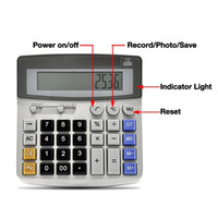 Cheap High recommend new Spy Calculators Cameras Video DVR mp3 player hidden DV Recorder Camera Multi function 640x480 Video Resolution