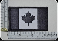 acu flag patch - CANADA ARMY FLAG IRON ON PATCH COMBAT MORALE MILITARY BLACK MULTICAM MILSPEC ACU LEAF
