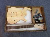 6 Strings guitar parts - New Brand project electric guitar with fingerboard rosewood With Parts